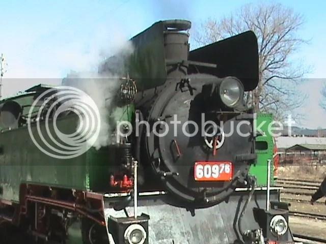 Полският парен локомотив