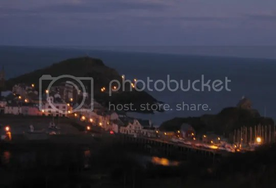 Ilfracombe harbour at dawn