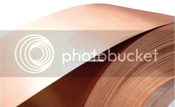 electrical material beryllium copper strip
