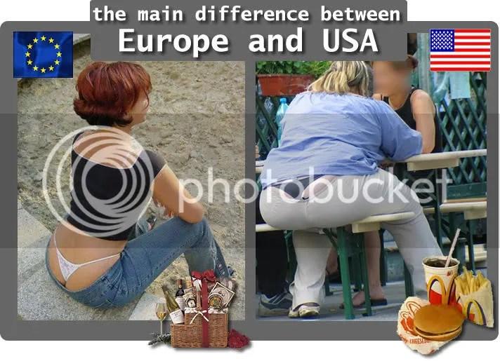 Europe vs usa+ Canada