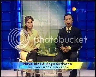 Bayu Sutiono dan Nova Rini mundur dari Liputan 6 SCTV?