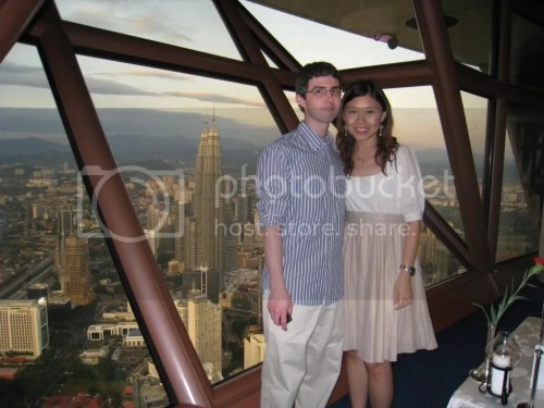 Mike in KL Tower