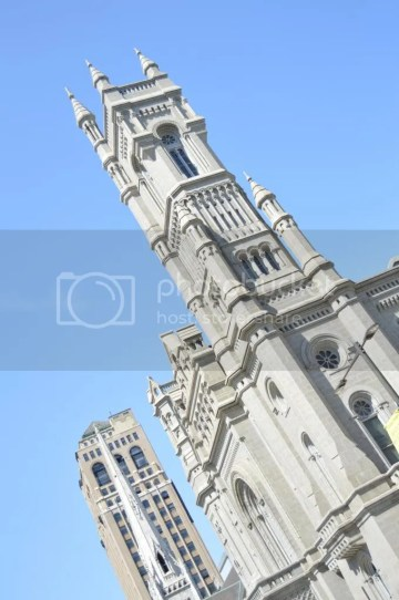 Masonic Temple tower side view