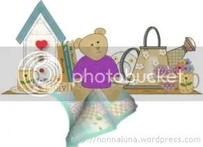 bear on shelf