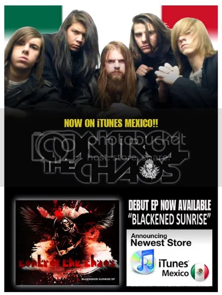 CONTROL THE CHAOS,VEGAS MOLTEN METAL,MEXICO,ITUNES,BEST,TEEN,META,BAND,WEST,CTC