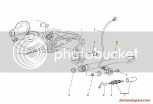Ducati Kickstand Side Stand: 8481098 SUPERBIKE 1098 1098S