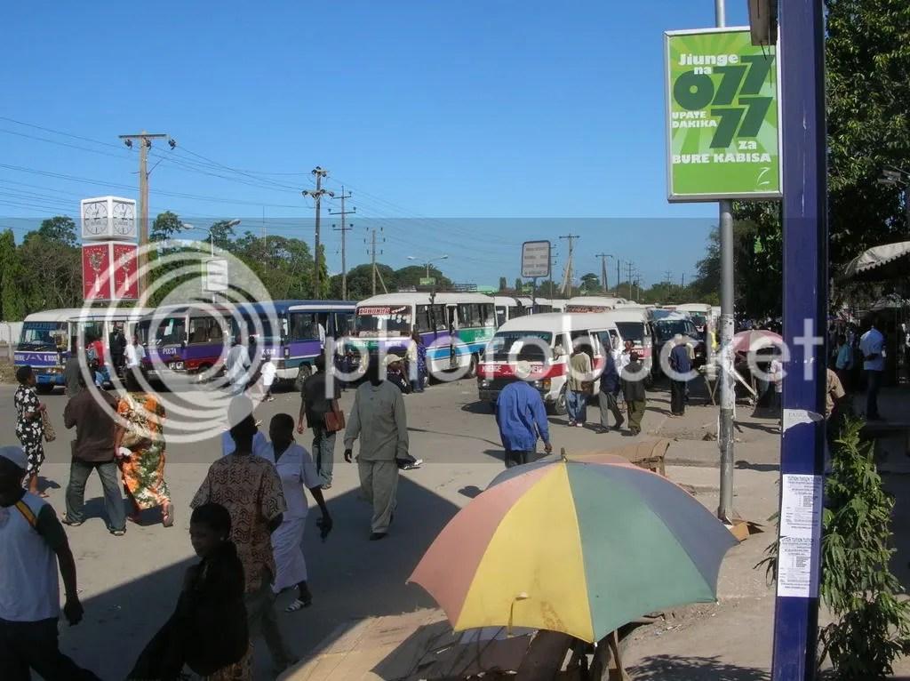 Mwenge Dalla-Dalla station