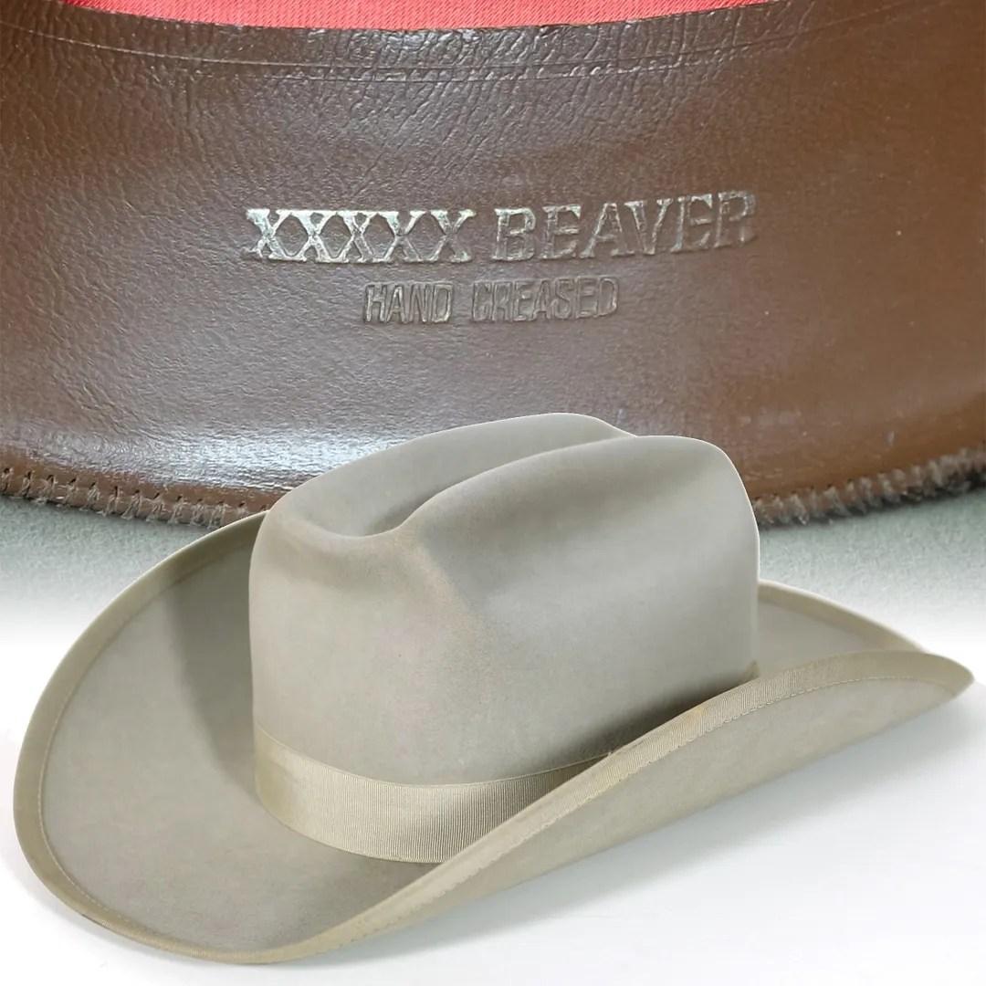 5bba1dfdb 5X Beaver Resistol cowboy hat   Vintage-Haberdashers Blog