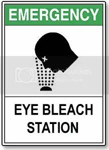Eye Bleach Station