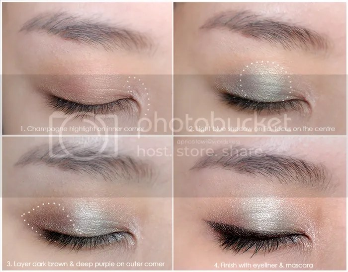 Winter 2014 Makeup Look Urban Decay Ammo Palette
