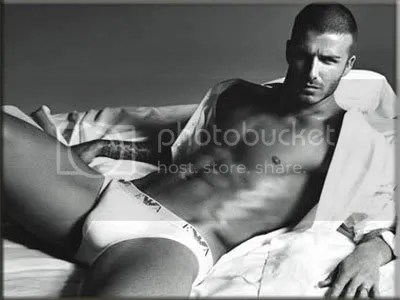 David Beckham in Armani Underwear