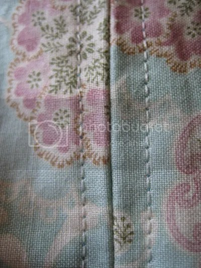 Upclose of stitching and fabric