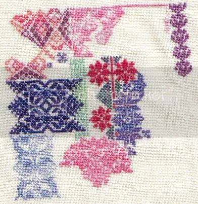 patchwork sampler