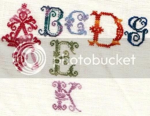 1x1 35 ct Hdf linen using Hdf silks