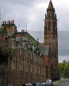 Belford Hostel in Edinburgh. It's been converted from a church.