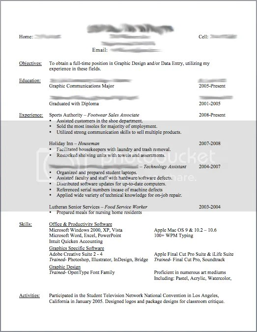 What Is Needed In A Resume. No Experience Resume Samples Resume