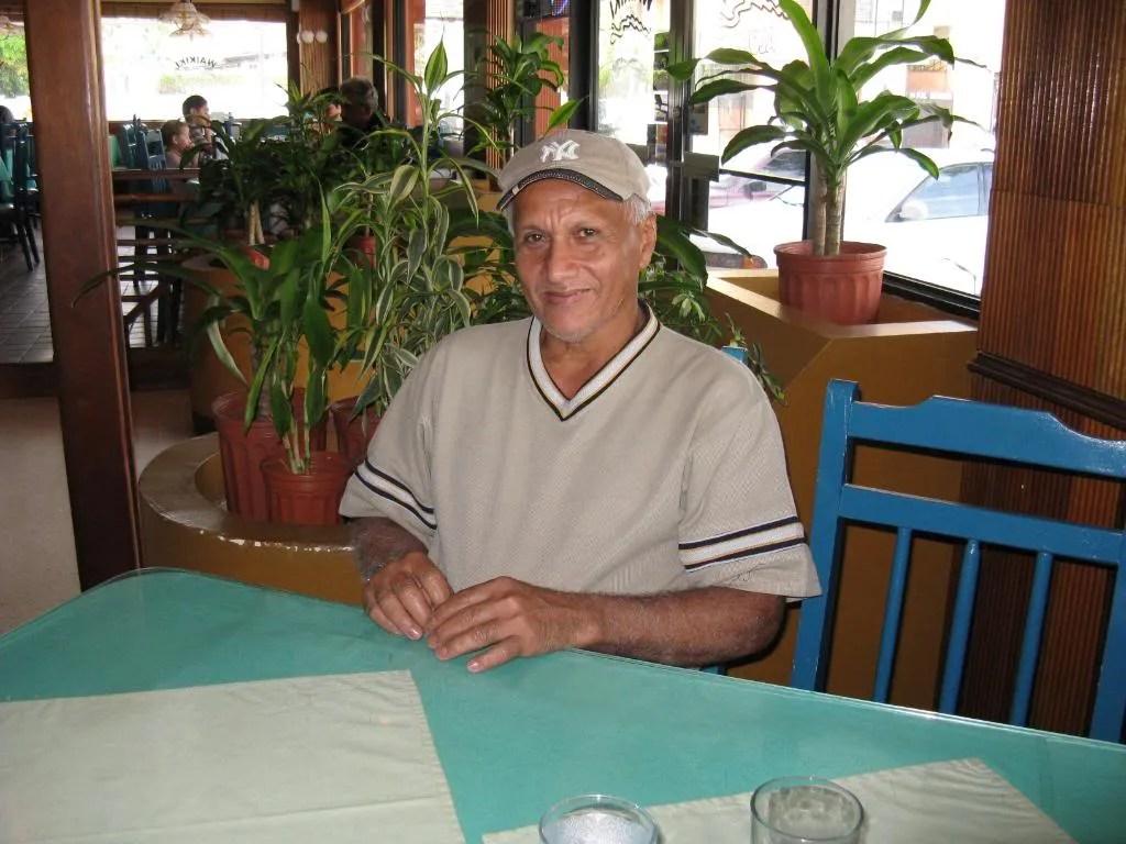 Mr. Fidedigno López, one of my four best friends.