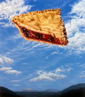 Pie in the Sky is a phrase that dates back to a sonf published in 1911 by Joe Hill.