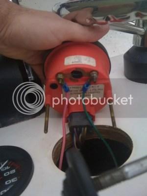 Wiring Tachometer help | Microskiff  Dedicated To The