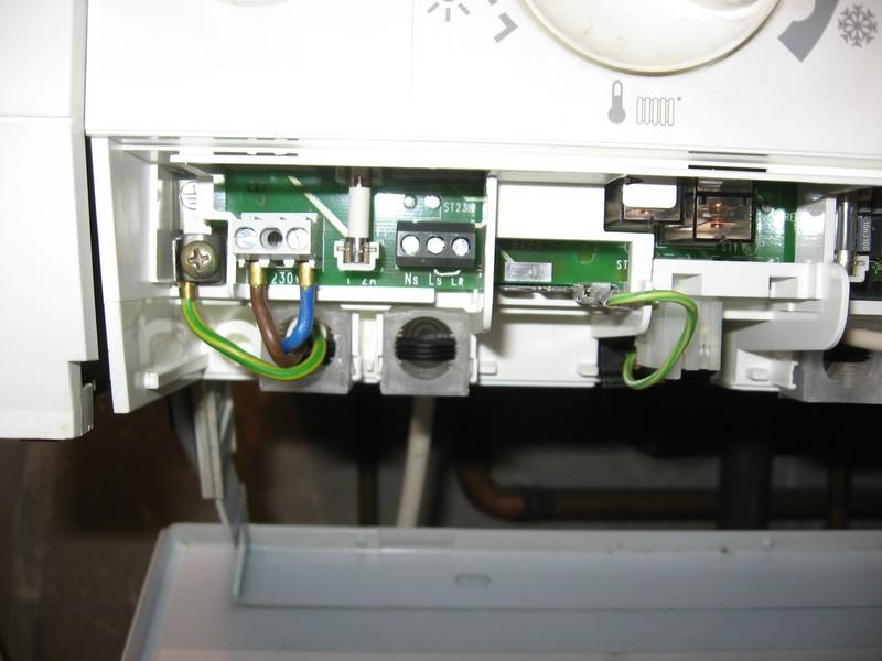 Thermique Thermostat Ambiance Chaudiere Elm Leblanc Resolu