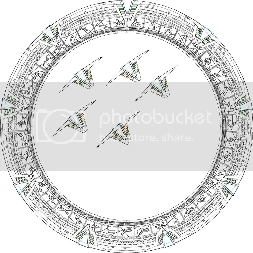 Dimensioned Stargate Technical Drawings