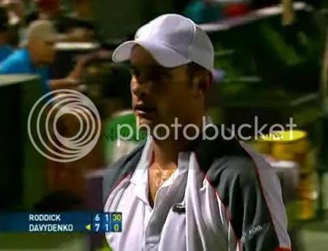 Andy Roddick vs N. Davidenko