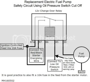 fuel pump and cut off switch | The Late Bay