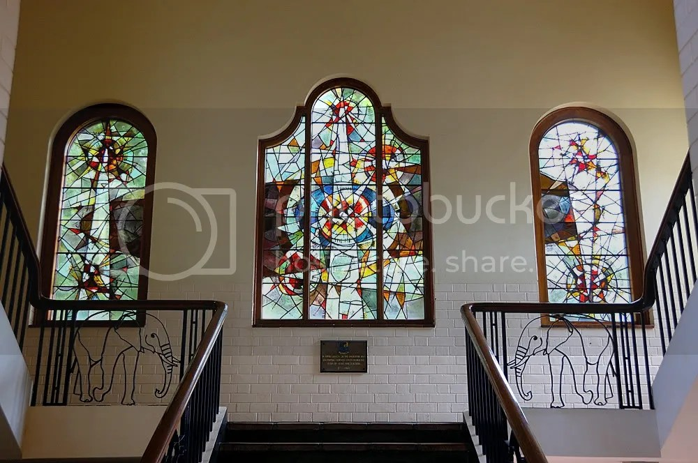 stained glass, RBHS