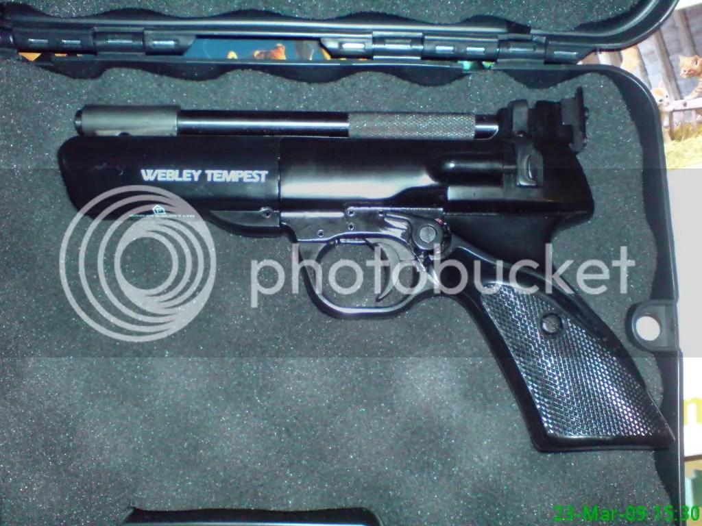 Webley Tempest .22