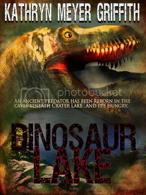 Dinosaur Lake by Kathryn Meyer Griffith, SF horror novel