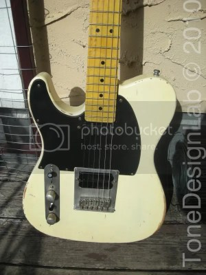 TONE DESIGN LAB • 60s Relic Telecaster Plus