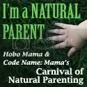 Carnival of Natural Parenting -- Hobo Mama and Code Name: Mama