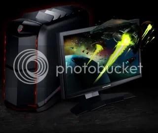 komputerdesktopDellalienwareauroraa Komputer super untuk main game