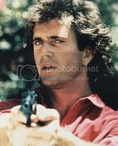 Picture of Mel Gibson mullet