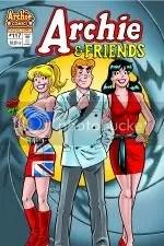 af117sm Archie Comics March 2008 Solicitations