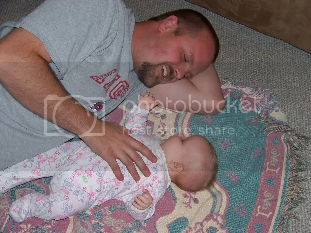 Kaitlyn and her daddy