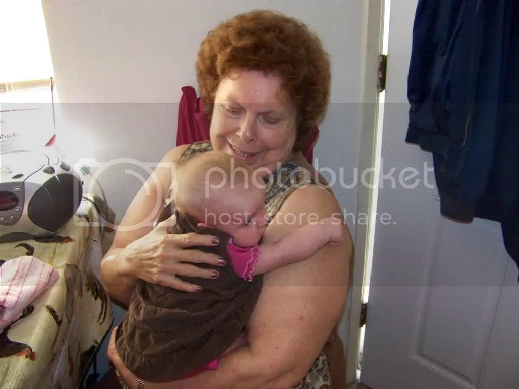Kaitlyn and Granny