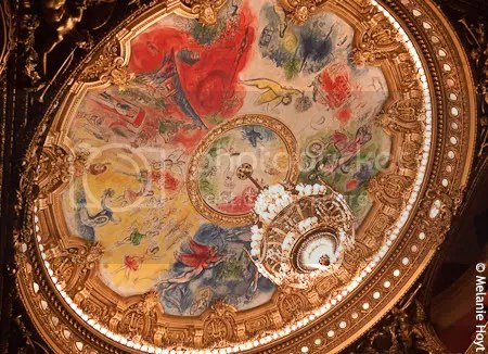 Chagall ceiling, Opera Garnier