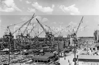 While some talk of a New Apollo Project, a more appropriate example of what would need to happen to realize the Repower America plan is the accelerated wartime production efforts during WWII, especially the building of the Liberty Ships.  Wind turbines, CSP heliostats, transmission towers and wires would all need to be produced in volume and at speed.