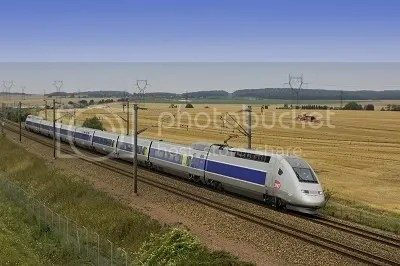 TGV high speed electric train
