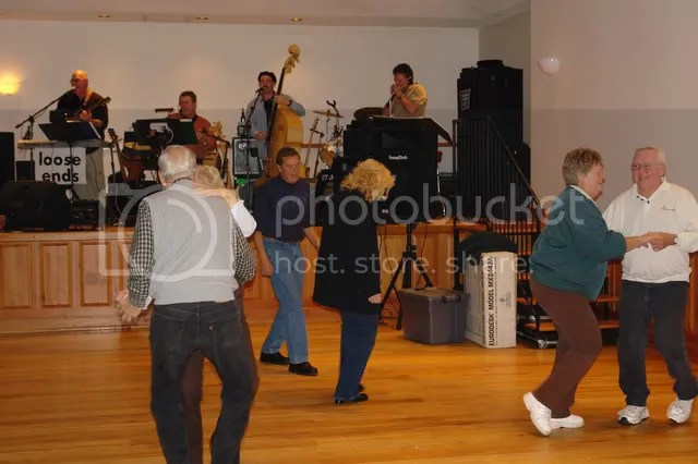 The public has fun dancing at 2006 student benefit concert