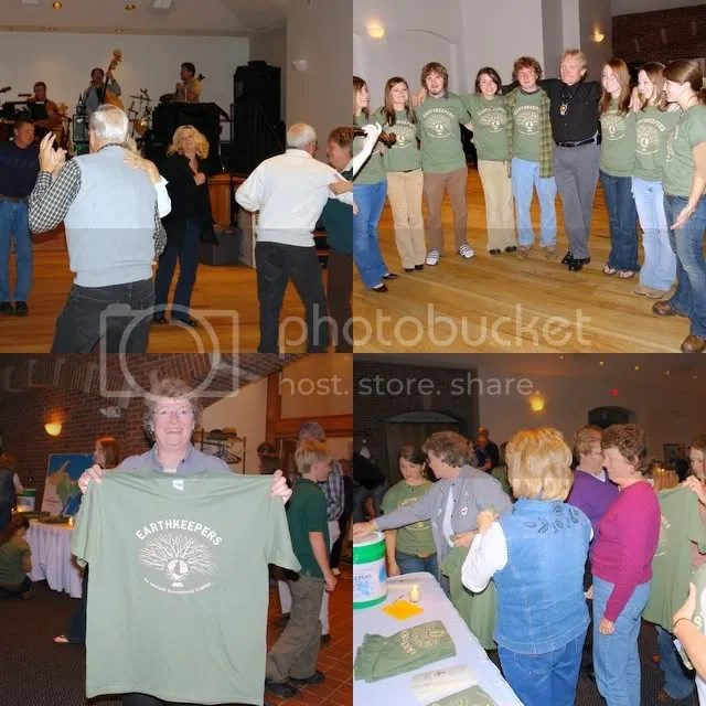 Collage of NMU EK students during the October 2006 benefit concert