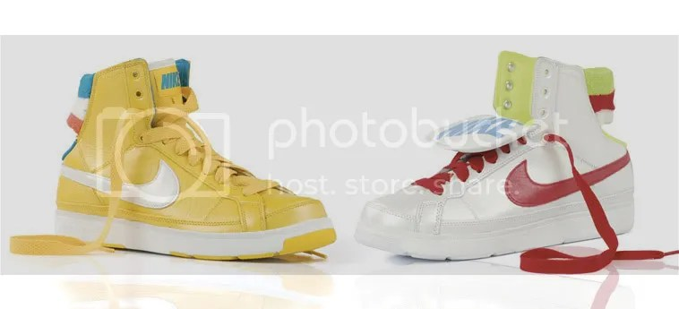 Yellow/White x Silver/Red