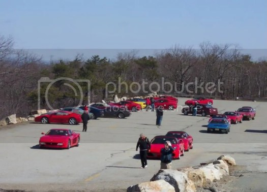 Spring Fever Ferrari run to High Point State Park