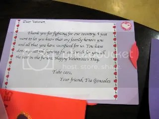 A gift of gratitude from a Student at Madison Middle School