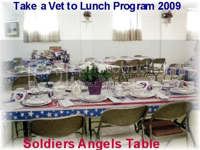Soldiers Angels Table