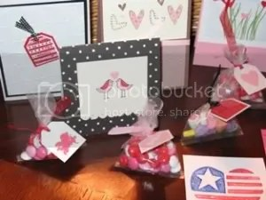 Beautiful cards made by the Angels for American Lake Veterans