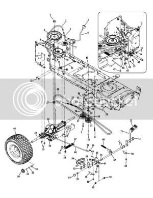 LTX 1040 clutch diagram  MyTractorForum  The