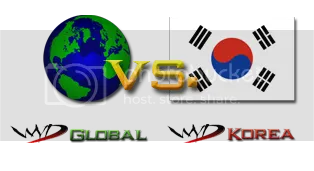 WYD Global vs. WYD Korea