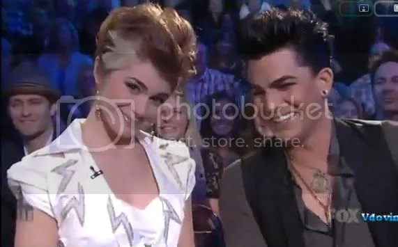Siobhan Magnus and Adam Lambert